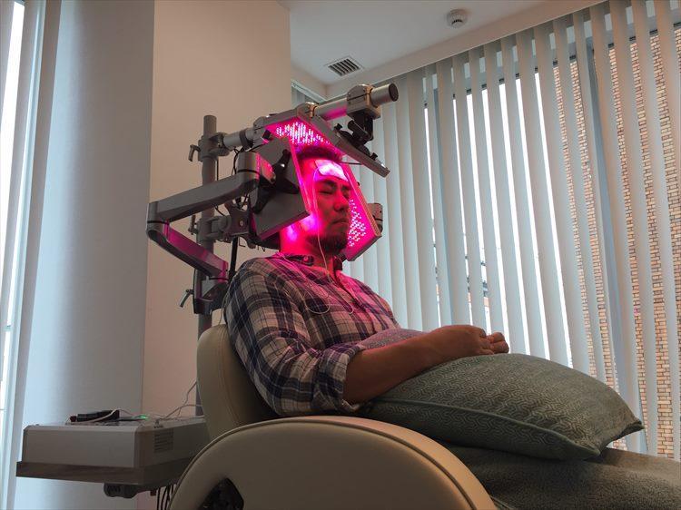 皮の活性化を目的にしたマシン・RElight