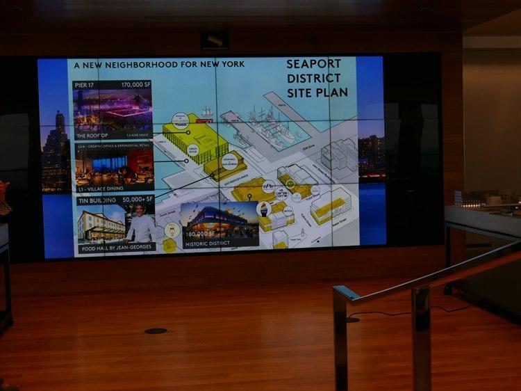 映画館やダイニング、イベントスペース、ショッピングゾーンなど多数の区画がある。