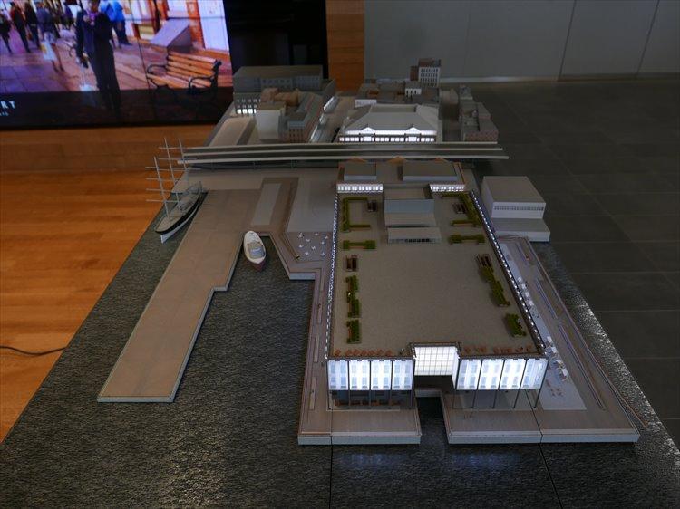 開発オフィスを訪れた5月には、こうした模型で着々とプロジェクトが進行していた。