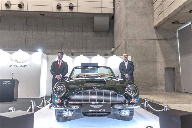 1969年7月から1970年11月までの間に、わずか38台のみが生産された1970年のDB6 Mk2ヴォランテ。アストンマーティン ワークスで完全レストアされた同車の価格はなんと2億2000万円。
