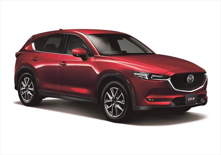 <b>マツダ CX-5|MAZDA CX-5</b><br />マツダが販売するミドルサイズのクロスオーバーSUV。車両価格は249万4800円?。2リッターと2.5リッターのガソリンモデル、2.2リッターのディーゼルモデルに2WD(FF)を設定する。4WDシステムは、走行しながら得た情報を使って路面状況を予測して駆動力を前後に配分するi-ACTIV AWDを採用する。