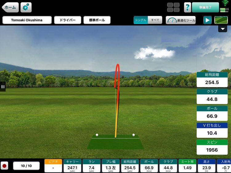 ゴルフ試打