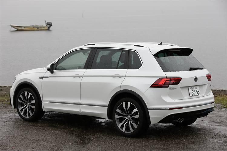 新たに340Nmの2? TDIエンジンを加えたティグアン。2017年、ドイツ本国ではコンパクトSUVで最も売れている実力車だけに、グレードの充実はうれしいところ。TDIモデルの価格は408万6000円?