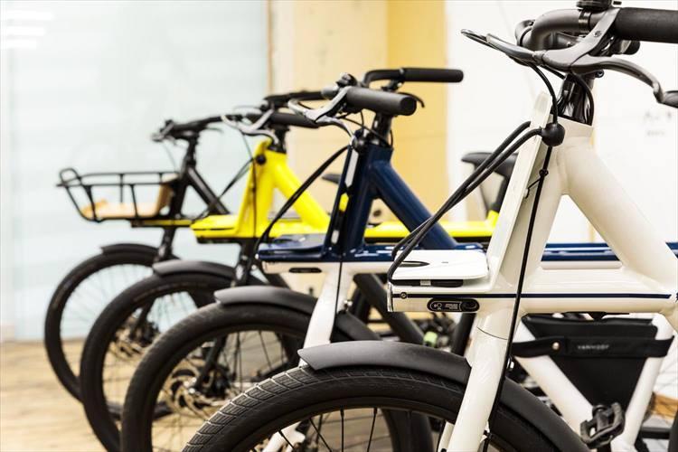 取材時は4台のバイクがラインアップされていた。 ※2018年5月取材