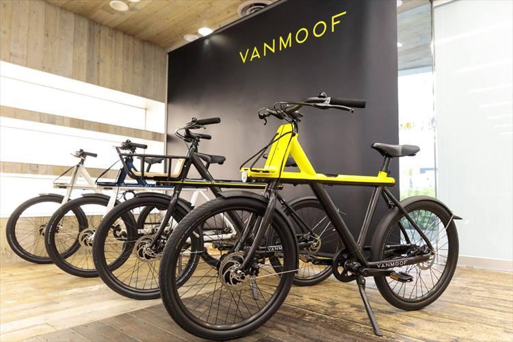 オランダ発のスマートバイク、バンムーフに月額2500円で乗れる!