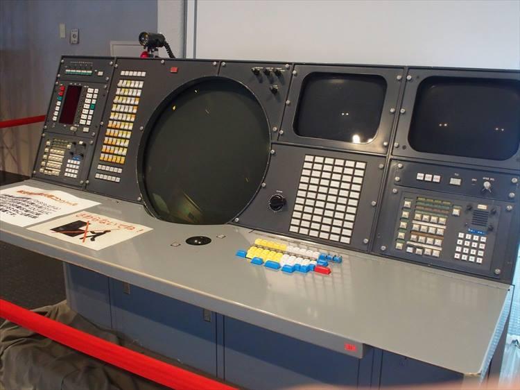 防空指令所(DC)などに設置される航空現況表示用コンソール(ASD)