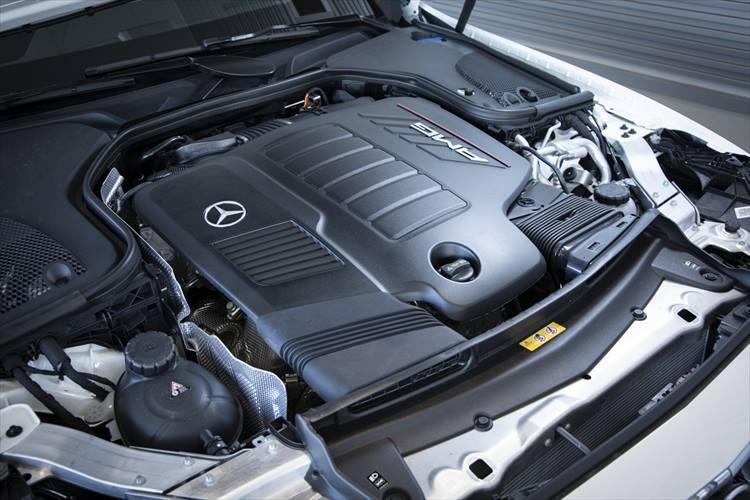 vメルセデスAMG「AMG53シリーズ」のエンジン