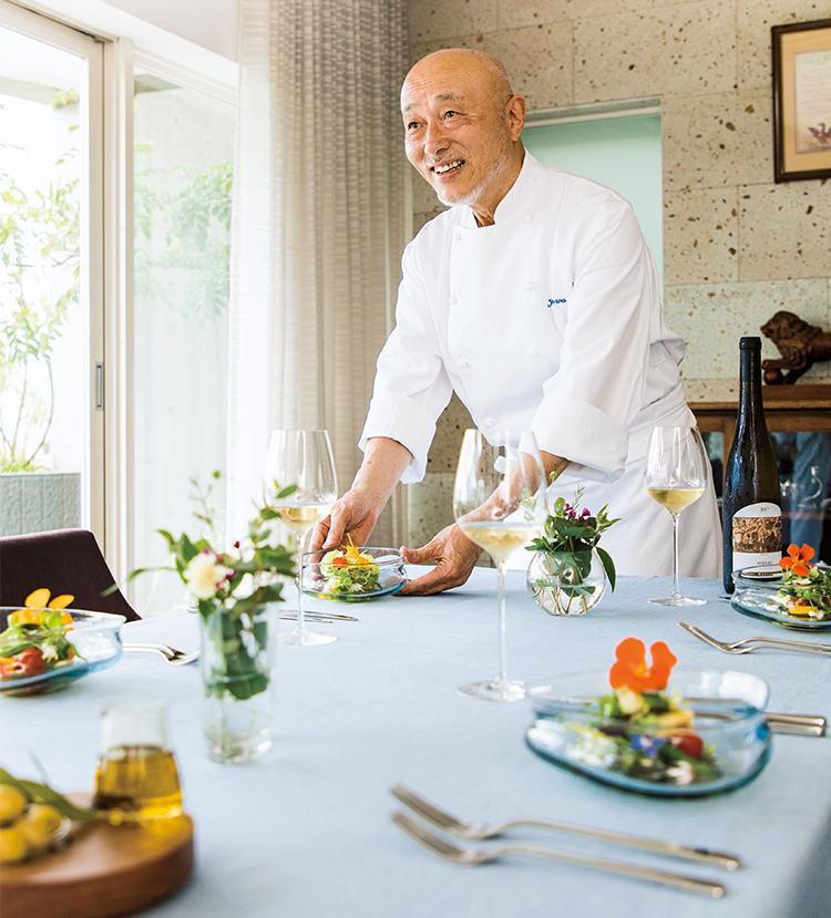 オトワレストラン オーナーシェフ 音羽和紀さんによるホームパーティ