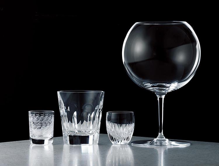 バカラのワイングラス、タンブラー、ショットグラス