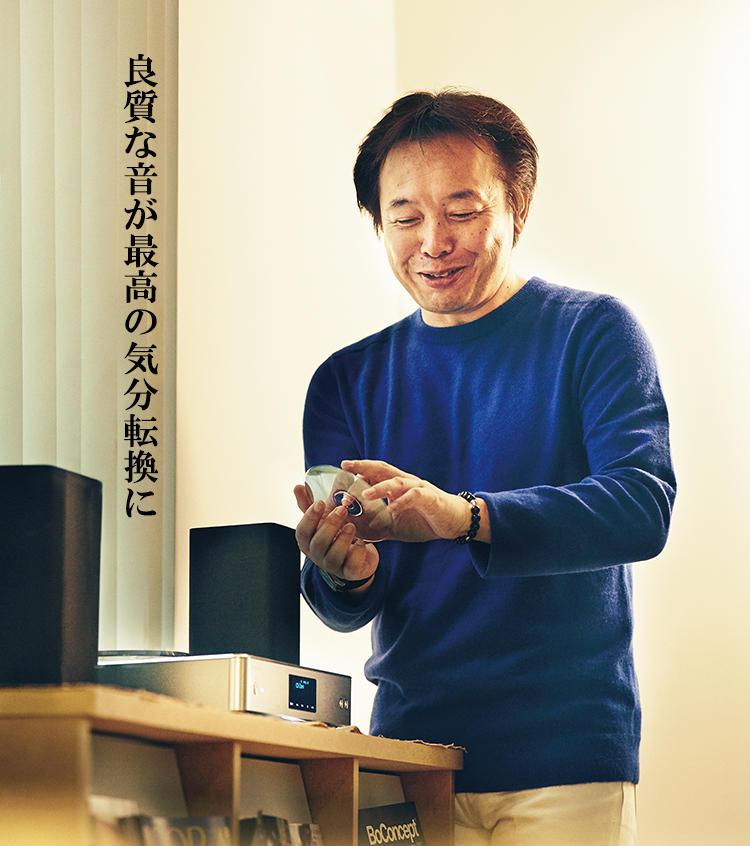 稲継明宏さんとテクニクスのCDステレオ