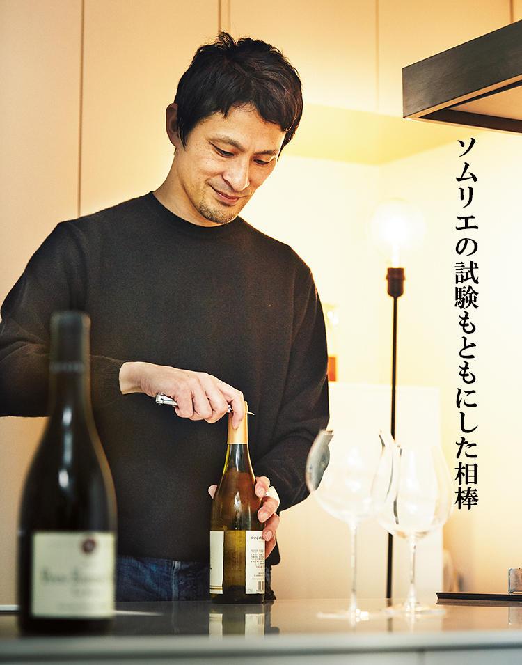 宮本貴臣さんとワイン