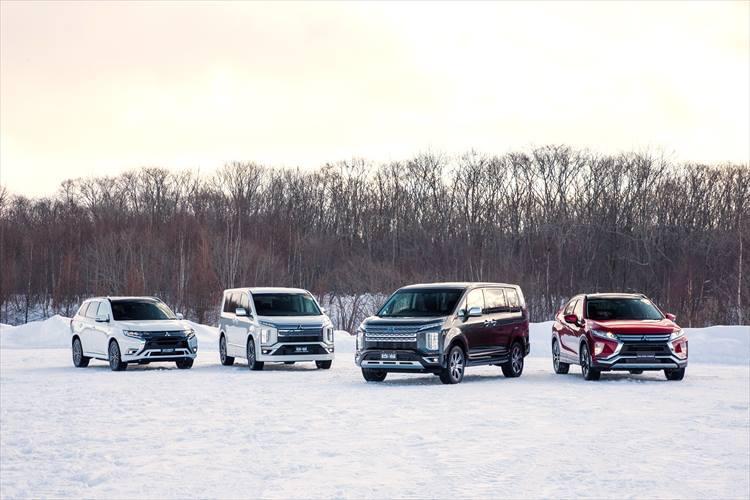 雪上ドライブで体感する、三菱が目指す独自の「走り路線」
