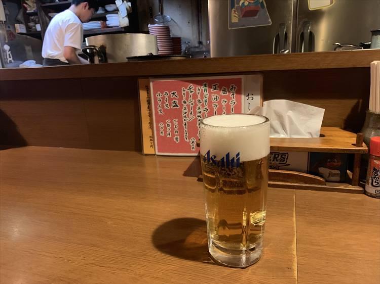 やっぱりビール。サッポロではなくアサヒだった