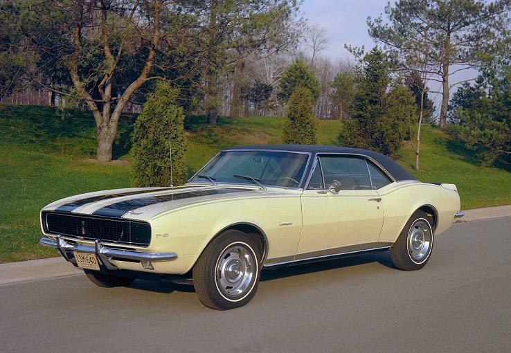 1967年にデビューした初代カマロ