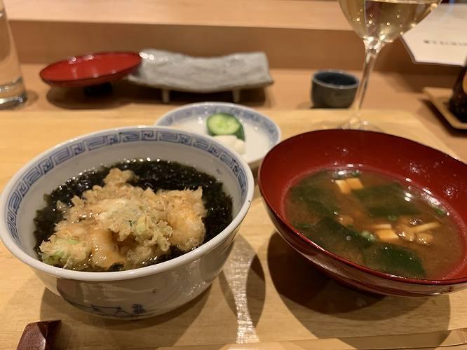 最後は天茶。ここまで満足感のある天ぷらは久しぶり