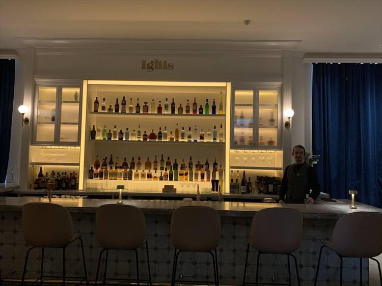 札幌と同じ名前を持つバー「イグニス」。酒の揃えがいい