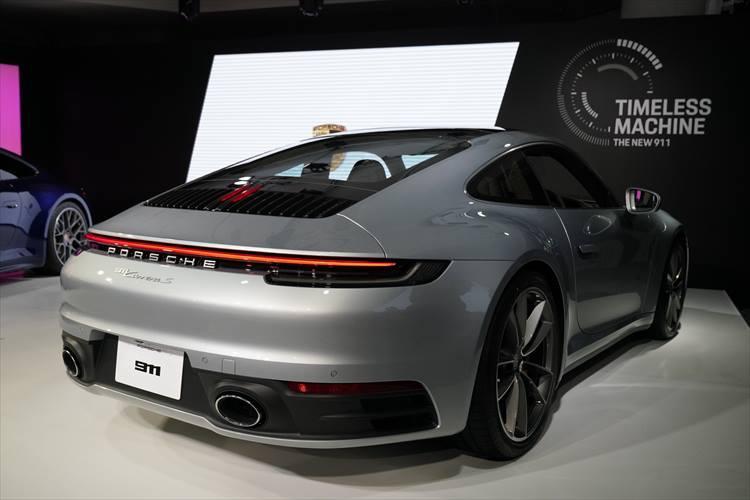 ポルシェ 新型911カレラ(992型)