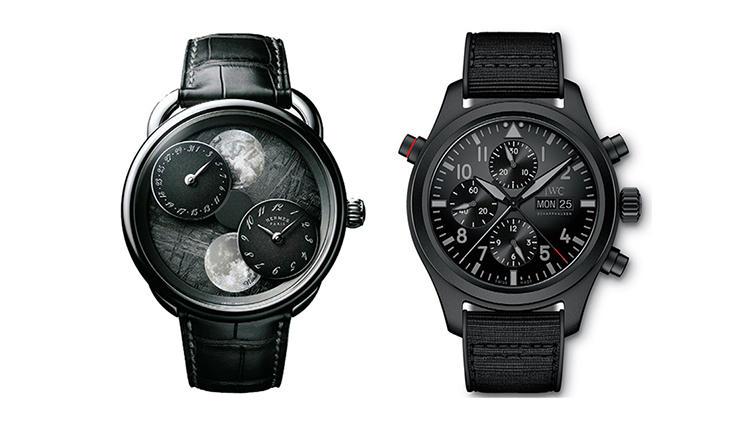 セラタニムと隕石素材の時計