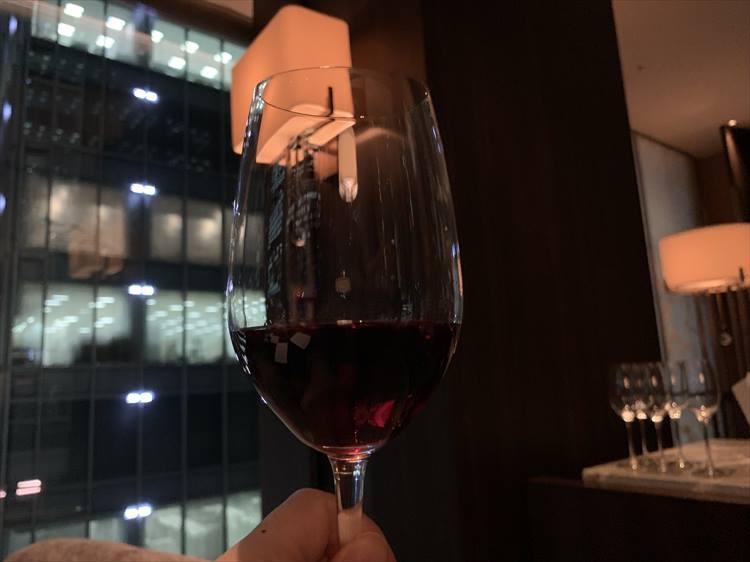 ブラックカードの赤ワイン