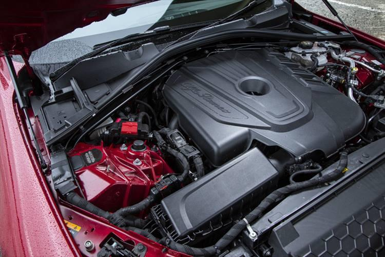 アルファ ロメオ ジュリアのエンジン