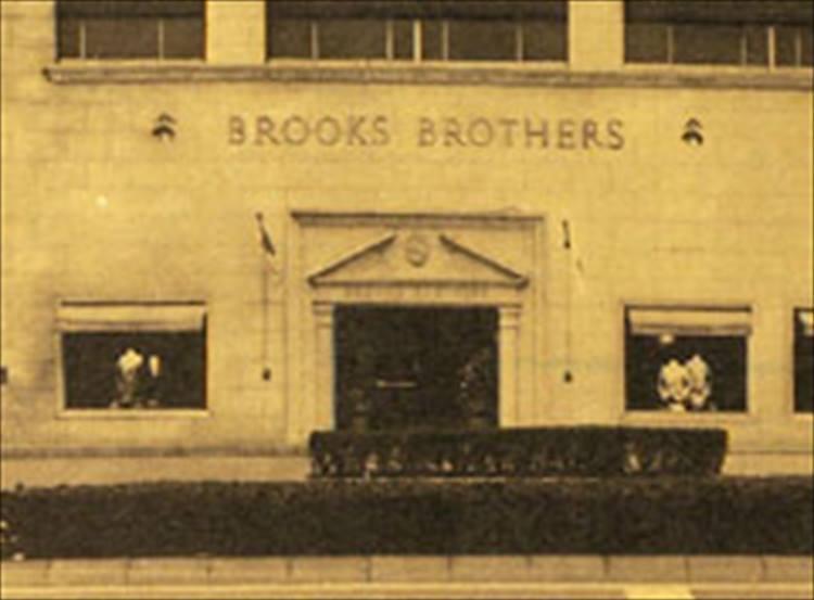 帰国と同時期の1979年にブルックス ブラザーズが東京・青山にオープンした。写真はオープン当時の様子。