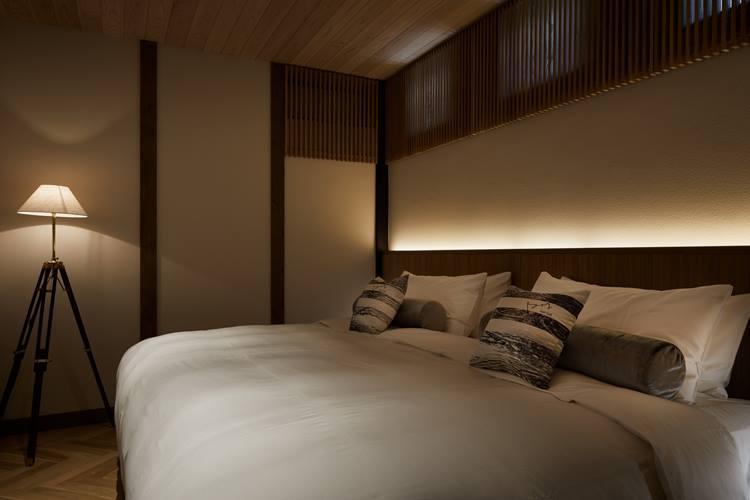 ハリウッドツインのベッドルーム。ⒸNakasa&Partners