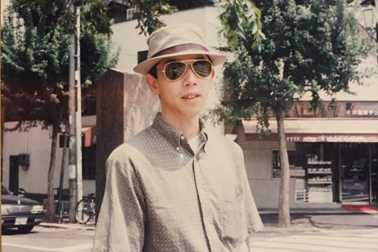ソリマチさんの若かりし頃、京都旅行での一コマ