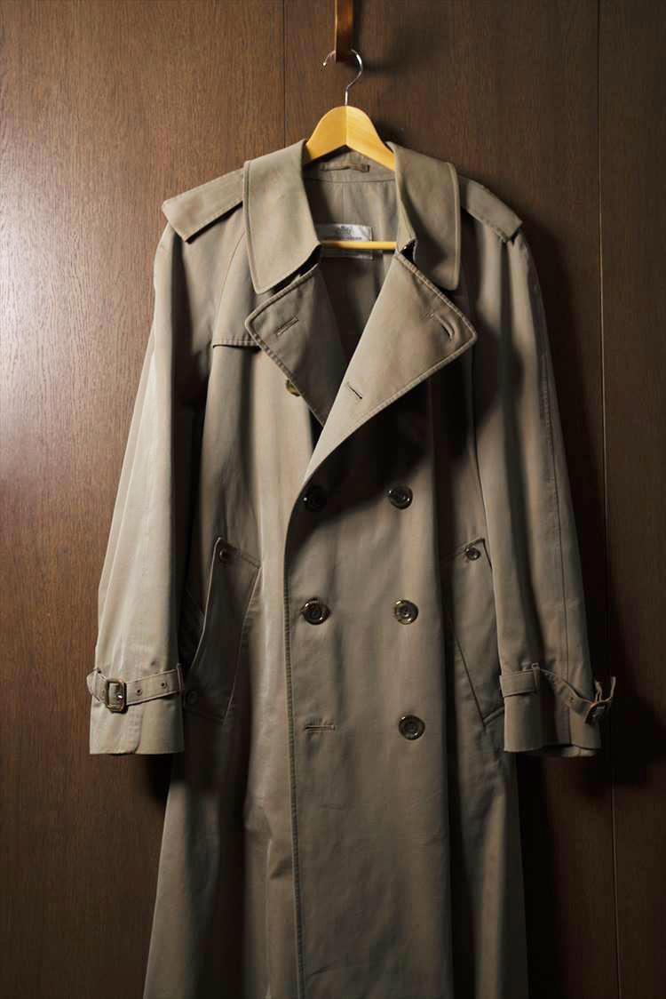 ソリマチさんが東京・吉祥寺の古着店で購入した1970年代のアクアスキュータムのコート