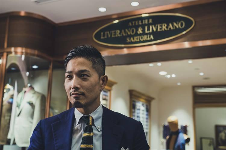 大崎貴弘(おおさきたかひろ)さん/リヴェラーノ&リヴェラーノ ショップマネージャー