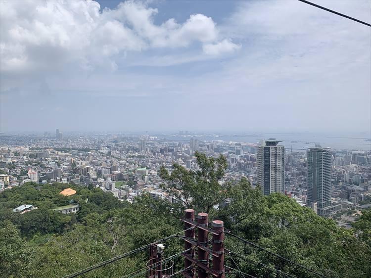 山から見下ろす神戸の街
