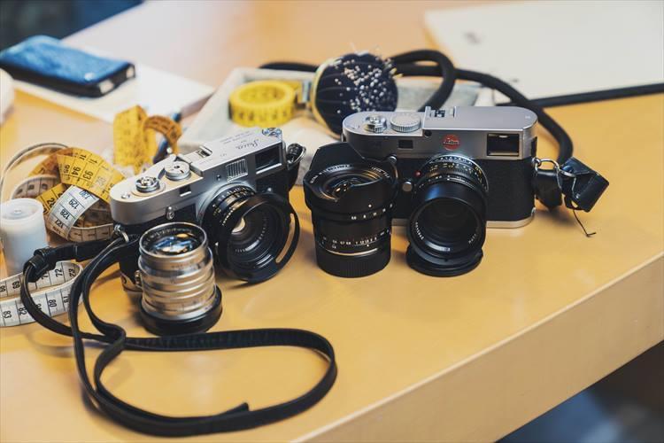鈴木さんの私物カメラ