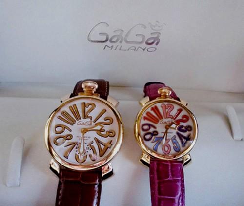 the best attitude 371f0 90c20 銀婚式の記念品として購入した腕時計【ガガ ミラノ】