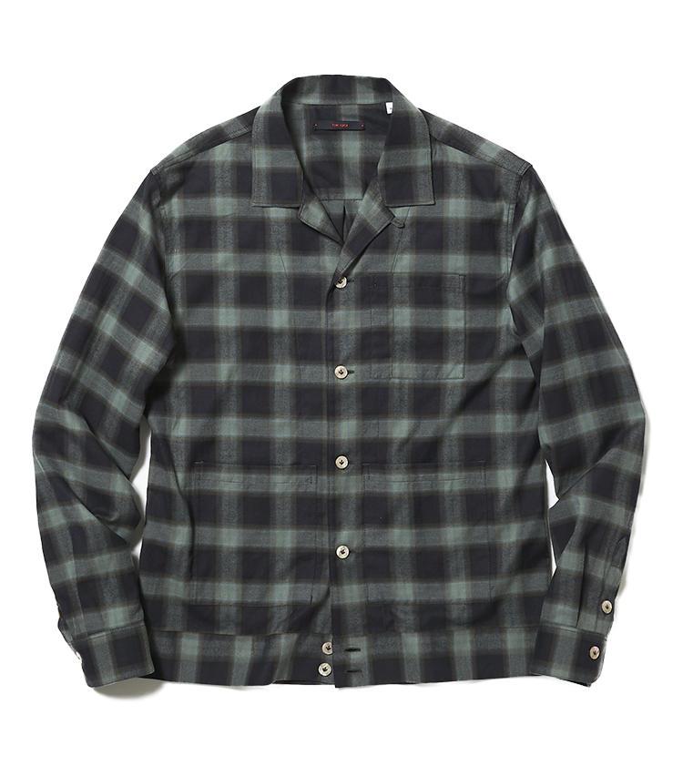 <b>16.ザ ・ジジのシャツジャケット</b><br />今季トレンドのシャツジャケット。こちらは肌なじみの良いネル生地で、インナーとしても着られるようにサイズバランスが調整されている。4万2000円(ビームス 六本木ヒルズ)
