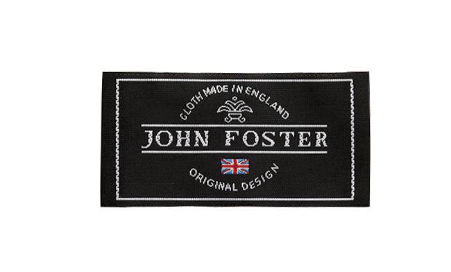 <strong>太番手のモヘヤはお手の物「ジョン・フォスター」</strong><br />1819年創業。「非常な名門として知られてきたブランド。タフなモヘヤ素材の扱いに長けるほか、無地生地のバリエーションが豊富なのは、累代の顧客がしっかりいることの証左ですね」