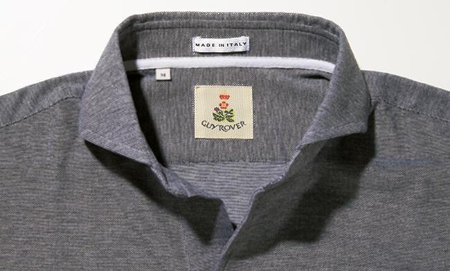 <strong>GUY ROVER / ギ ローバー</strong><br />台襟付きスキッパーならシャツ顔でドレッシー。