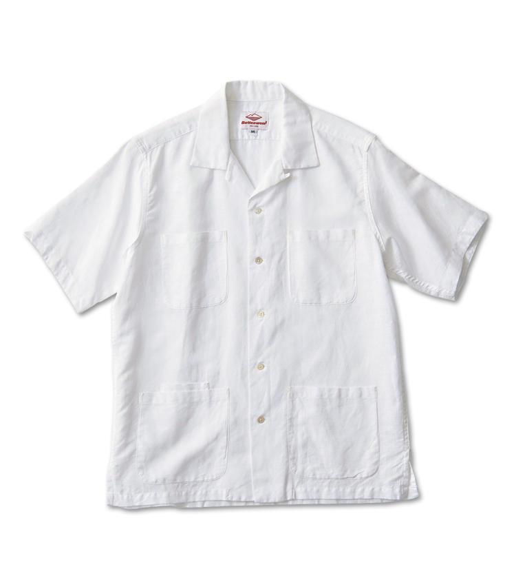 <span style=font-size:1.1em;><strong>BATTENWEAR / バテン ウェア</strong></span><br /><strong>日本人デザイナーによるメイド・イン・NY</strong><br />NYで服飾を学んだ長谷川晋也氏によるカジュアルブランドより。サファリを思わせるリネン素材の5ポケットが休日ムードにぴったり。Tシャツの上に羽織ってラフに着るのがサマになる一着だ。2万3000円(シップス 銀座店)