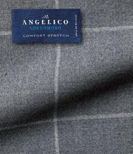 <font size='4'><b>6.アンジェリコのゴルゴモーロ</b></font><br /><br />「アンジェリコ社は、元々上質な既製服によく採用されていた生地を提供するイタリアの名門ミル。よりサルトリア向けに近年発表したのが本コレクション。重量も抑えめでリアリティがあり、扱いやすいフレスコ素材といえます」