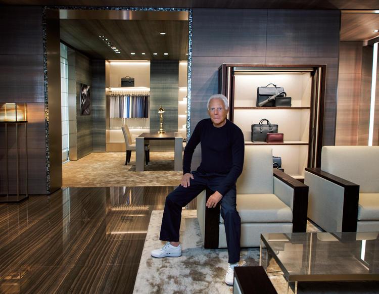 来日したアルマーニさんにインタビュー!「スーツの品格、MTMの楽しみ方」とは?