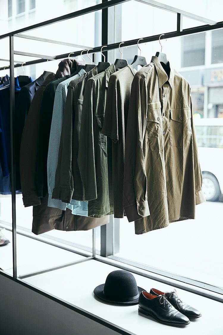 フランス軍のヴィンテージミリタリーシャツ/2万8000円