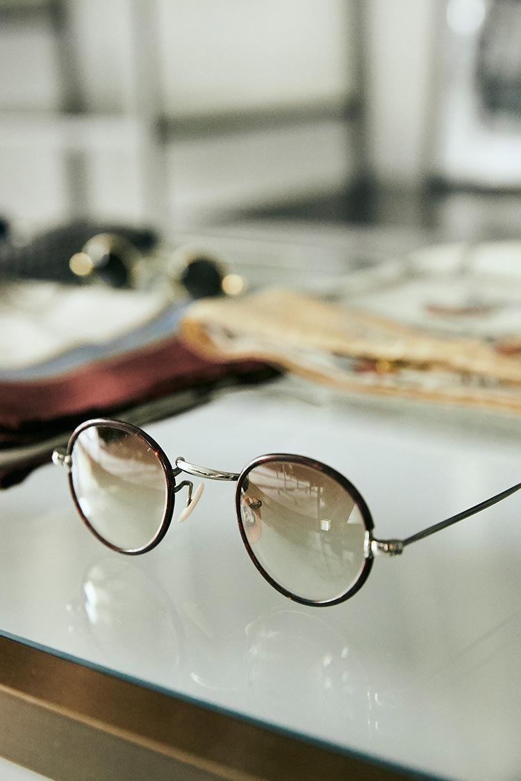 ヴィンテージのメガネ/3万8000円