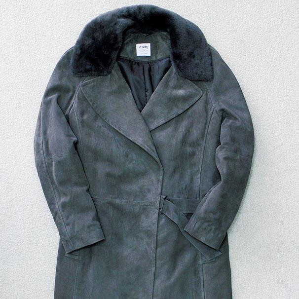 【コレを買う!】<b>エンメティのコート</b>「リラックスコーデで羽織りたい」インテレプレ セールス 佐々昌寛さん 15万5000円(インテレプレ)