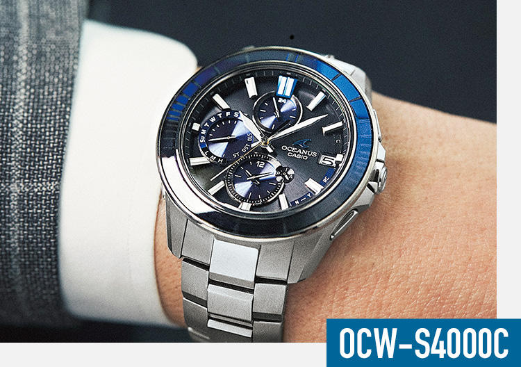brand new 84115 bd8b7 ビジネスマンの日常にカシオのオシアナスが映える「実用を追求 ...