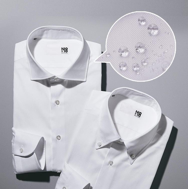 N18の撥水シャツ