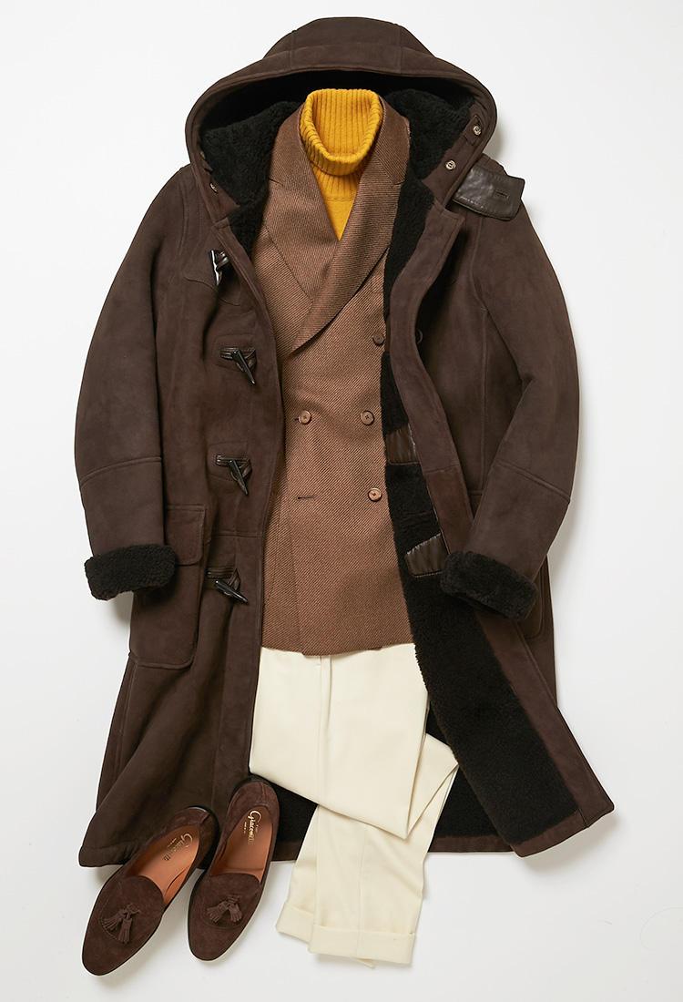休日のジャケットスタイル