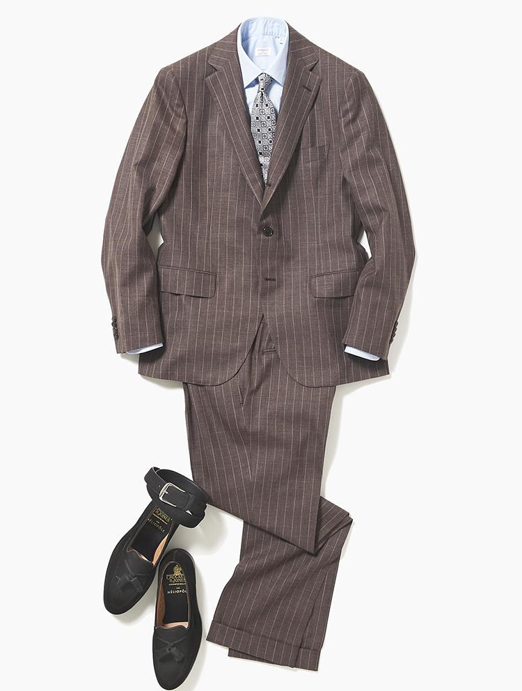 雨予報の日、スーツに合わせる革靴は?【スーツの着回し1週間チャレンジ!/エリオポール編#1】