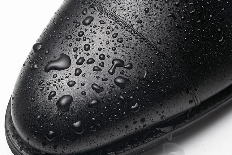 スコッチグレインのドレス靴、撥水の様子はこんな感じ!