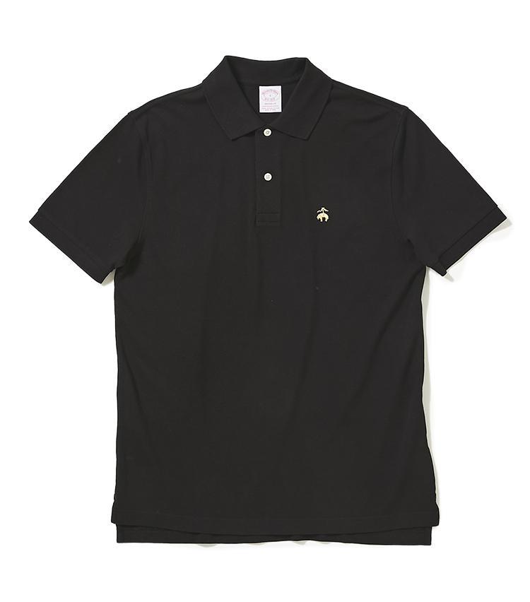 <b>11.ブルックス ブラザーズのポロシャツ</b><br />トレンドのゆとりのあるシルエットで仕立てたコラボポロ。素材は特殊な加工を施したスーピマコットンで、色落ち、毛羽立ち、型崩れがしにくい。9000円(トゥモローランド)