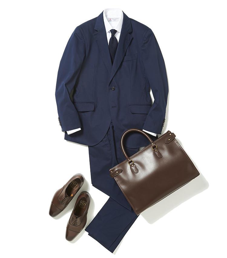 真夏のスーツは配色次第で体感温度が下がる? 【スーツの着回し1週間チャレンジ!/ヴァルカナイズ・ロンドン編#1】