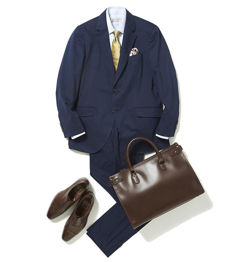 おとといのスーツを違う印象で着こなすには?【スーツの着回し1週間チャレンジ!/ヴァルカナイズ・ロンドン編#3】