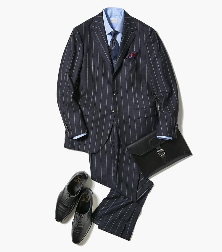 クールビズからのスーツで男っぷり3割増し!